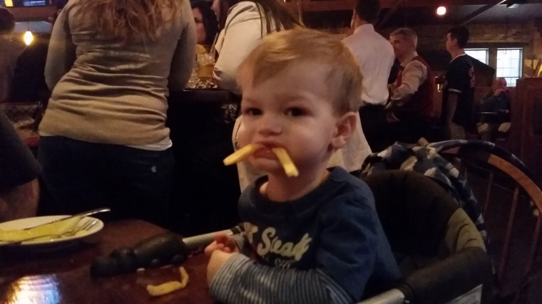 French fries are great fuel!